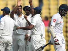 2nd Test: Ashwin, Jadeja Skittle Out Sri Lanka For 205 On Day 1