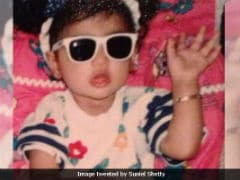 On Athiya Shetty's Birthday, Suniel Shetty Shares A Throwback Pic