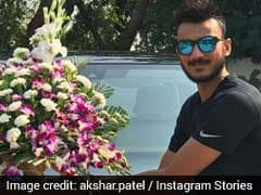 Axar Patel Gives Fans A Glimpse Of His New Car