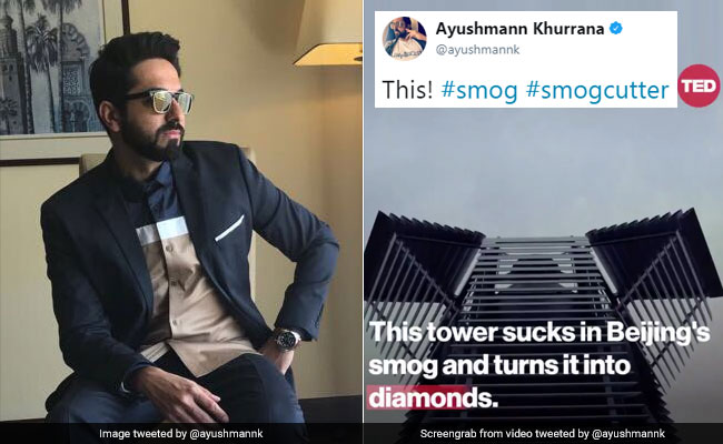 Ayushmann Khurrana's Tweet About Smog Has Amitabh Bachchan's Attention