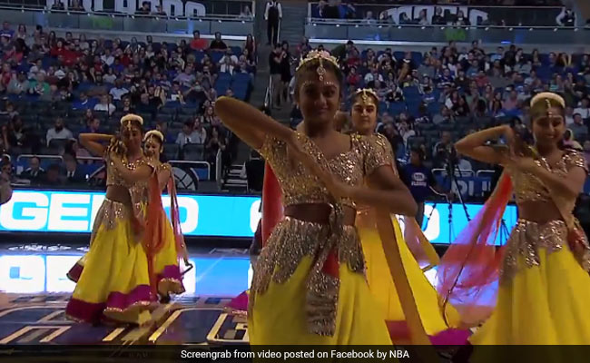 Baahubali Was The Real Winner At This NBA Basketball Game