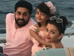 This Pic Of Aaradhya, Aishwarya And Abhishek Bachchan Is Going Viral