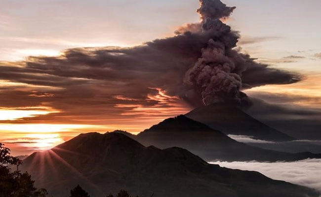 Indonesia Orders Immediate Evacuation As Highest Alert Issued For Bali Volcano