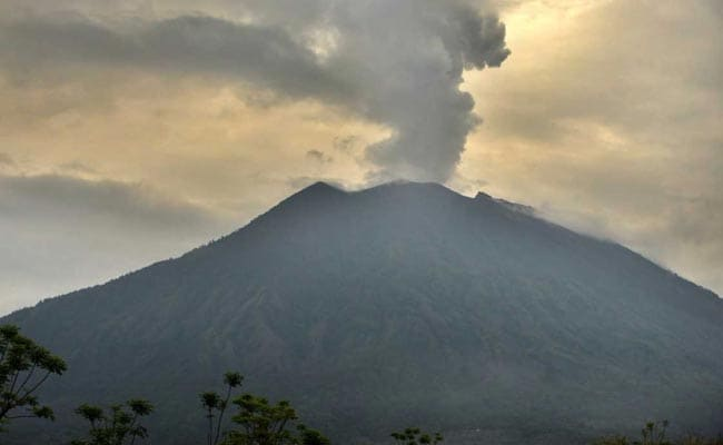 Ash Billows From Bali's Mt. Agung Volcano In Fresh Volley Of Activity
