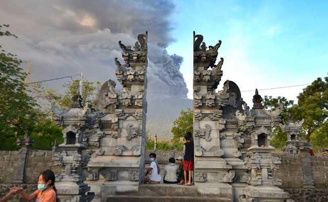 Bali Volcano Eruption Triggers Cancellation, Delay Of Dozens Of Flights