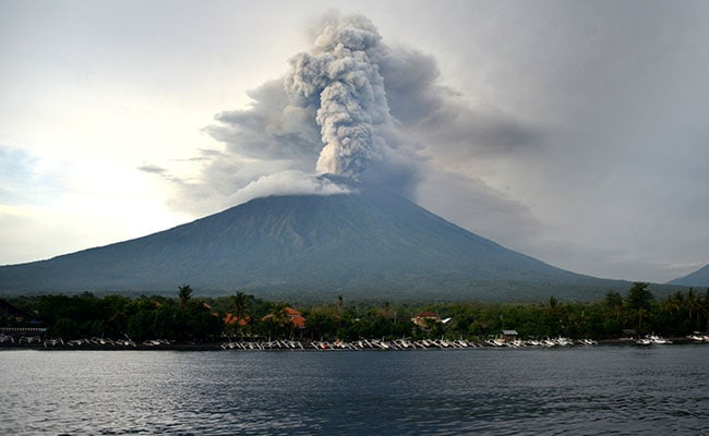 As Bali Volcano Rumbles, A Look At Possible Effects Of Volcanic Eruptions