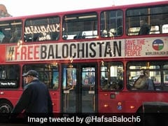 London Transport Authority To Remove 'Free Baloch' Adverts From Buses