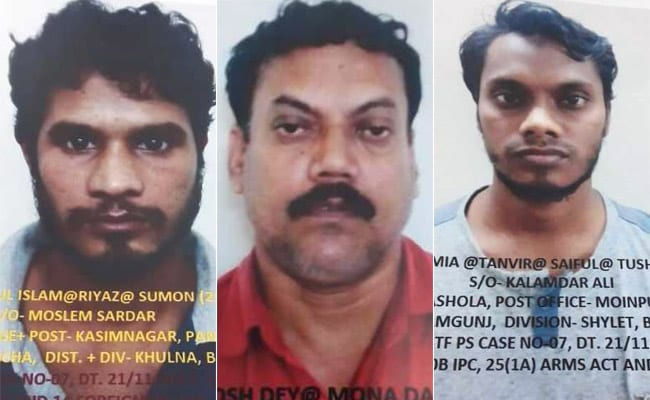 Two suspected B'deshi terrorists, Indian accomplice arrested