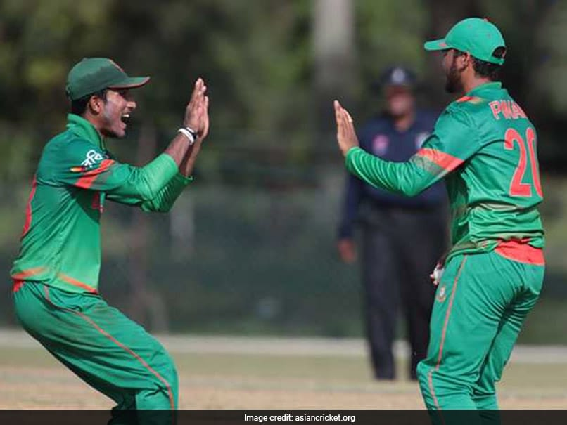 Under-19 Asia Cup: Defending Champions India Crash Out After Losing To Minnows Bangladesh