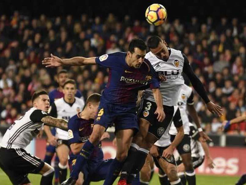 La Liga: Valencia Hold Barcelona Amid Lionel Messi Ghost Goal Controversy