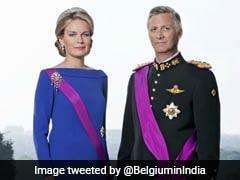 सात दिवसीय यात्रा पर भारत आए बेल्जियम के राजा और रानी