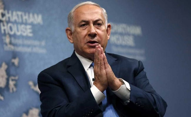 Benjamin Netanyahu Expresses Hope For US Peace Push In Middle East