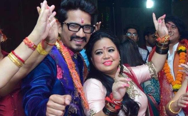 Ahead Of The Wedding Bharti Singh And Haarsh Limbachiyaa Arranged A Mata Ki Chowki
