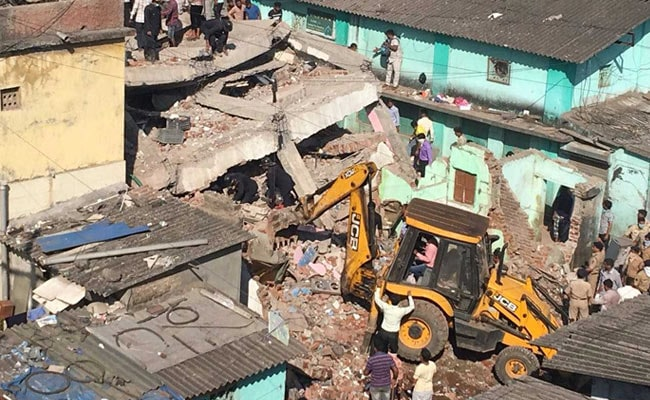Woman Dead, At Least 20 Feared Trapped In Building Collapse In Bhiwandi Near Mumbai