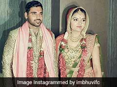 Bhuvneshwar Kumar And Nupur Nagar Are Now Married. See Photos