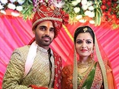 Bhuvneshwar Kumar Weds Nupur Nagar, Wishes Pour In From Teammates