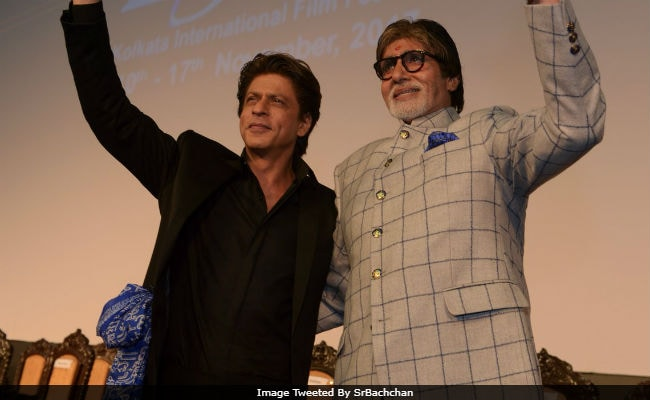 Pics From Kolkata International Film Festival, Featuring Amitabh Bachchan, Shah Rukh Khan And Other Celebs