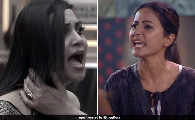 Bigg Boss 11, November 21, Written Update: Hina Khan Slut-Shames Arshi Khan. Calls Her 'Characterless'