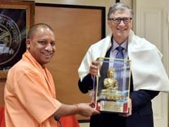 Bill Gates Meets Yogi Adityanath, Discusses UP's Medical Issues