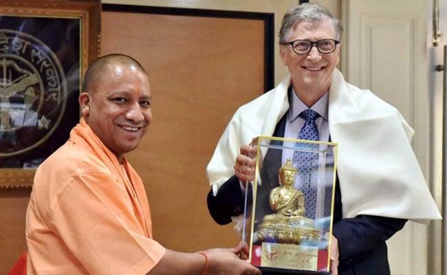 Bill Gates Meets Yogi Adityanath, Discusses UP's Medical Issues