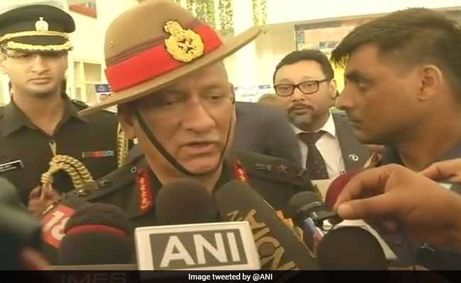 Pulwama Encounter: General Bipin Rawat Says Will Neutralise Any Terrorists On Indian Soil