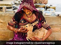 In Rajasthan, Bishnoi Woman Breastfeeds Baby Deer. Respect, Tweets Chef Vikas Khanna