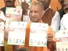 मेयर चुनाव के लिए भाजपा ने जारी किया संकल्प पत्र, योगी ने लगाई वादों की झड़ी