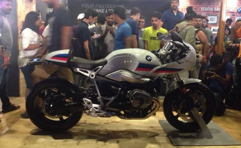 India Bike Week 2017: BMW R Nine T Racer Launched At Rs. 17.30 Lakh