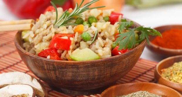 Brown Rice Onion Pilaf