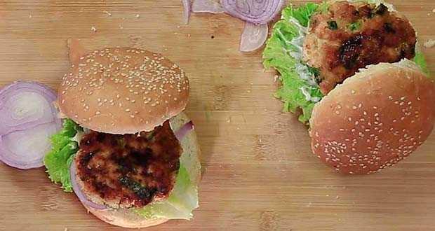 chicken burger hindi recipe in forumfinder Choice Image