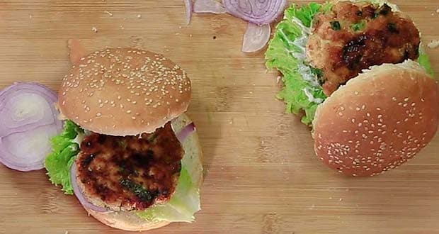 10 best fast food recipes in hindi ndtv food you can pick your own fillings and opt for whole wheat buns for a healthy twist forumfinder Choice Image
