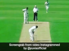 Yuvraj Singh Shares Video Of Most Bizarre Dismissal In Cricket, Statistician Explains The Reason