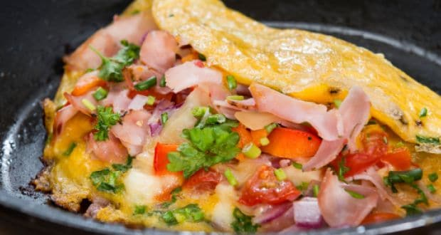 cheese onion omelette recipe