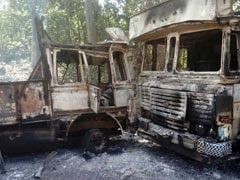 आंध्र प्रदेश में माओवादियों ने किया बारूदी सुरंग विस्फोट, पुलिस पर की गोलीबारी