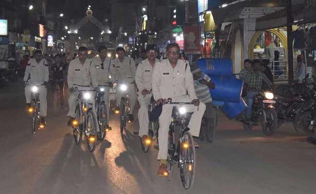 पल भर में हवा होने वाले अपराधियों को यहां साइकिल से पकड़ेगी पुलिस!