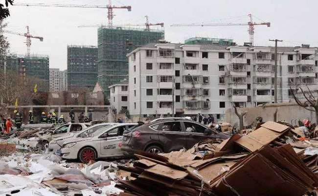 Blast Rocks Chinese Megaport City, 2 Dead