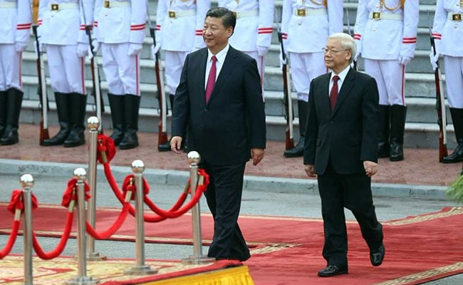 China, Vietnam Reach 'Consensus' To Uphold 'Peace In South China Sea'