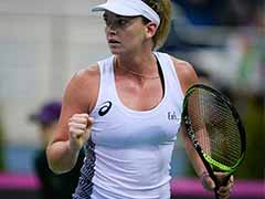 Fed Cup: CoCo Vandeweghe Puts United States One Up Against Belarus