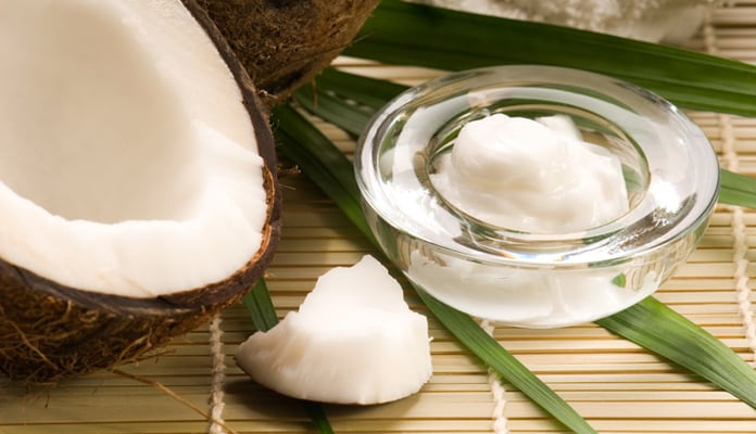 coconut oil helps in fading away dark spots