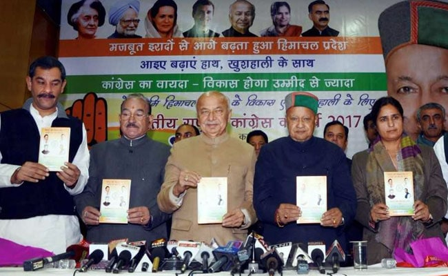 Himachal Pradesh Election 2017: Congress Manifesto Focuses On Farmers, Students