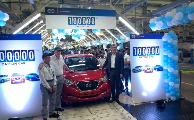 डैट्सन की सबसे पॉपुलर कार रेडीगो 1.0-लीटर का इस बिक्री में सबसे बड़ा योगदान है