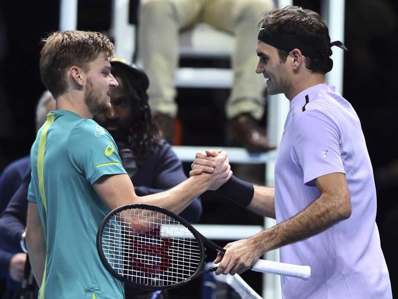 ATP Finals: David Goffin Shocks Roger Federer To Reach Final