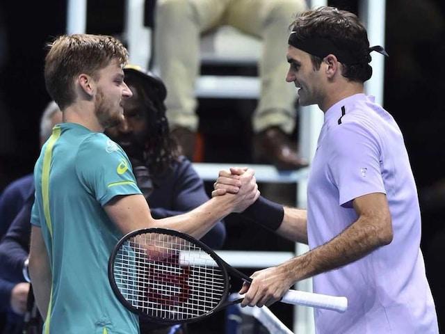 ATP Finals: David Goffin Shocks Roger Federer To Reach Final