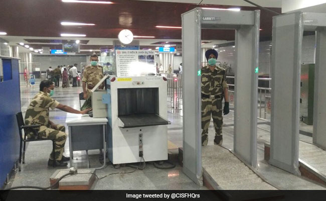 Kuwait-Bound Man Held With Bullets At Delhi Airport