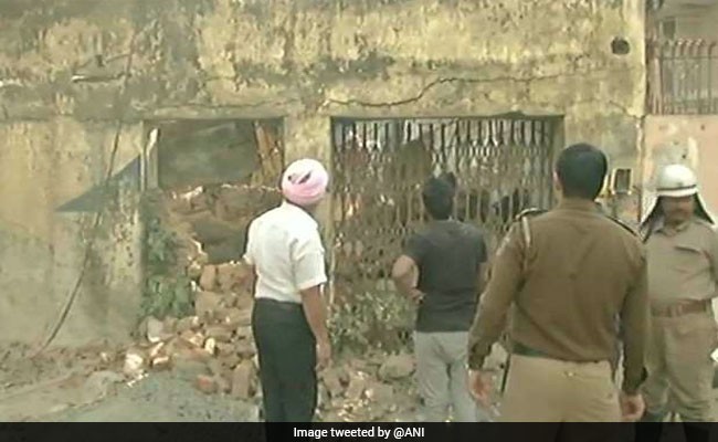 Two Killed, One Injured In Delhi Building Collapse