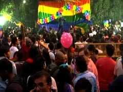Rainbow Flags, Drums And Dancing Mark Delhi's 10th Pride Parade
