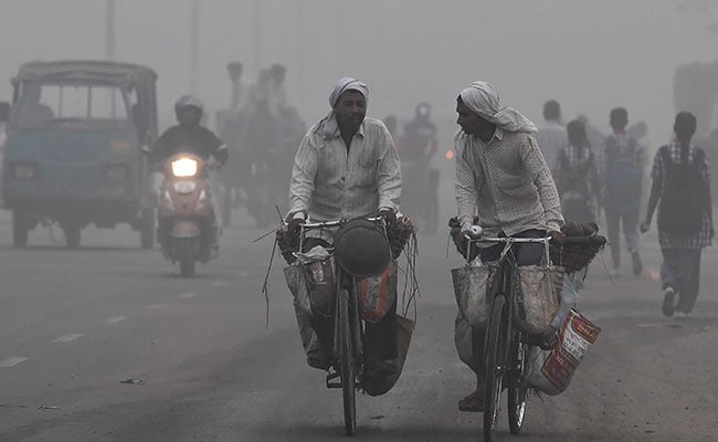 Delhi Woke Up Today To A Choking Blanket Of Smog