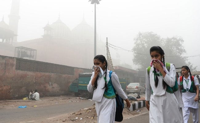 Delhi Air Pollution: Government Asks Schools To Avoid Outdoor Activities