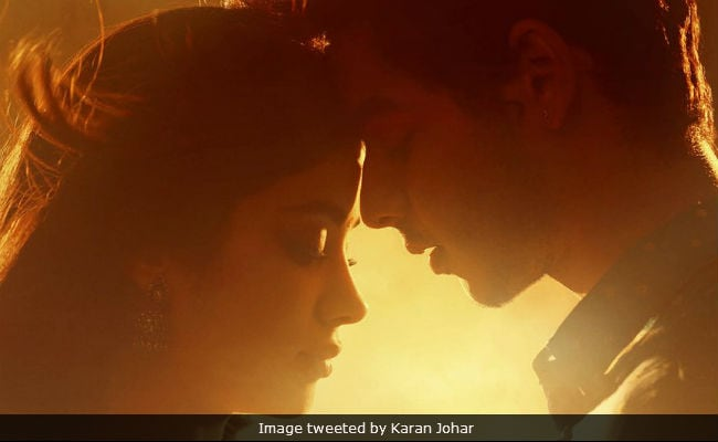 First Look Jhanvi Kapoor And Ishaan Khattar In Dhadak. Finally