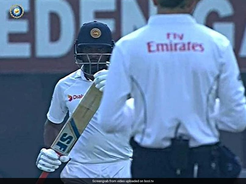 India vs Sri Lanka: Dilruwan Perera Does A Steve Smith As New DRS Controversy Erupts At Eden Gardens
